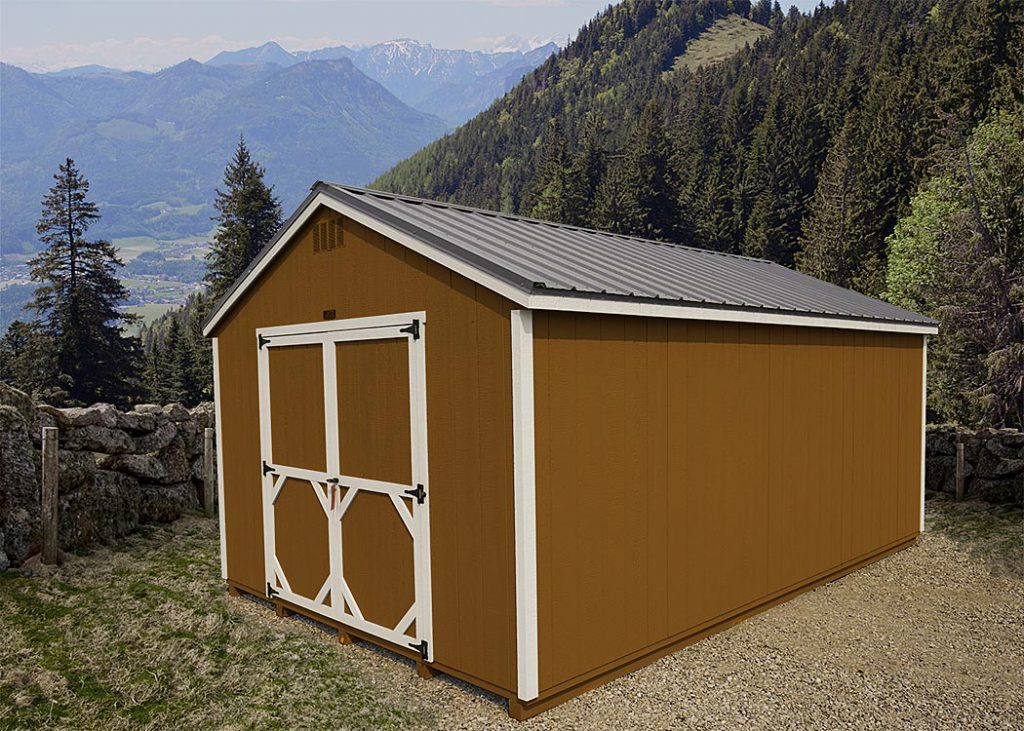 A-Frame Storage Shed