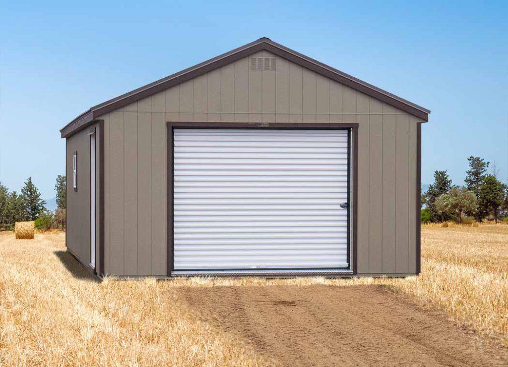 Prefab A-Frame Garage
