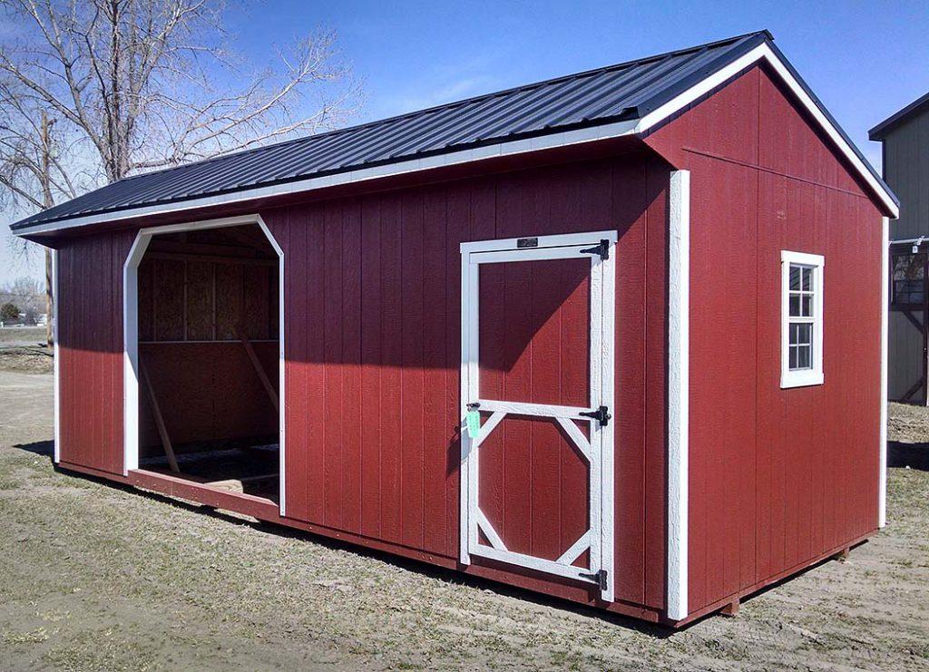 Quaker Style Livestock Shelter